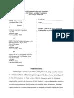 Blackwell v City Complaint