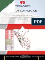 Mapa de la corrupción en el Perú