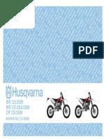 Manual Parts Husqvarna 2009 WR125.pdf