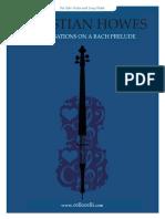 Improv on Bach Prelude Jazz Violin