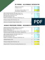 ASME B31.3 Pipe Thk Calc