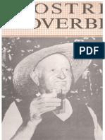 R Dall'Igna a Beltram - I Nostri Proverbi Vol 1 [130 Pps][1a Ed][1989]