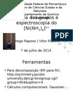 Teoria Dos Grupos - Hexaamino Níquel