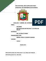 Metodologia de Wilson y Cruz de Malta Informe