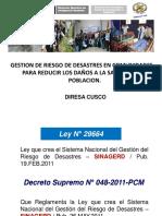 Rotafolio GESTIÓN DE RIESGO DE DESASTRES EN COMUNIDADES PARA REDUCIR LOS DAÑOS A LA SALUD DE LA POBLACION