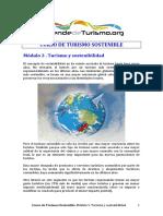 Modulo 3. Turismo y Sostenibilidad