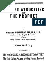 Alleged Atrocities of the Prophet (1924) - Muhammad Ali