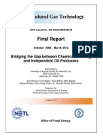 Bridging the Gap Between Chemical Flooding and Independent Oil Producers (DOE de-FG26-08NT05679)