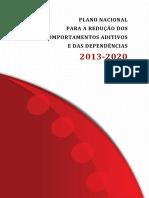 Plano Nacional Para a Redução Dos Comportamentos Aditivos e Das Dependências 2013-2020