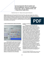 Real Time Spectral Attenuation Based Analysis