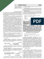 Ratifican Ordenanzas de las Municipalidades Distritales de San Mateo de Otao Callahuanca San Juan de Iris San Antonio Huanza Surco San Mateo Santo Domingo de los Olleros San Pedro de Casta San Bartolomé Santa Eulalia San Pedro de Laraos y Antioquia; sobre regulación de los Arbitrios Municipales para ejercicio 2017