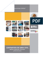 Contratista de Obra Civil - Módulo Administrativo