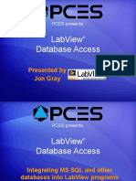 LabView Database Access