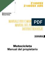 Manual Z1000SX