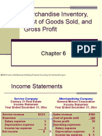 Plain Background Power Point Slides Chapter 6 Merchandise Inventory and Cost of Goods Sold3996