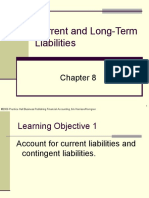 Plain Background Power Point Slides Chapter 8 Current and Long Term Liabilities 3366