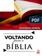 Voltando Para a Bíblia