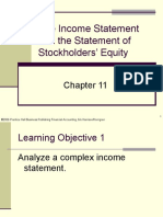 Plain Background Power Point Slides Chapter 11 the Income Statement and the Statement of Stockholders Equity967