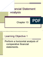 Plain Background Power Point Slides Chapter 13 Financial Statement Analysis 87