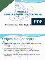 Unidad V Teoria Atomico Molecular-Estructura Atomica.ppt