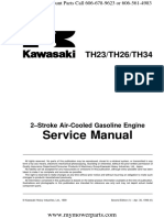 Th23 Th26 Th34 Kawasaki Service Repair Manual