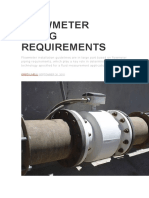 FLOWMETER PIPING REQUIREMENTS.docx