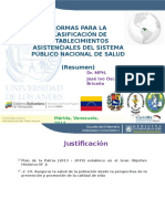 nuevaestructuradelosestablecimientosdesaludenvenezuela-141009095106-conversion-gate01.ppt