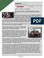 career education society newsletter  highlighting our career tour