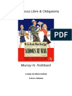 Murray Rothbard - Enseñanza libre y obligatoria.pdf