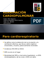 Reanimacion Cardiopulmonar 2016 , RCP