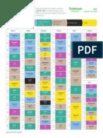 September 2016 Gym Timetable Wandsworth