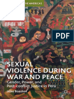 Sexual Violence in War and Peace