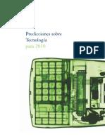 Predicciones Sobre Tecnologia Para 2010 Deloitte