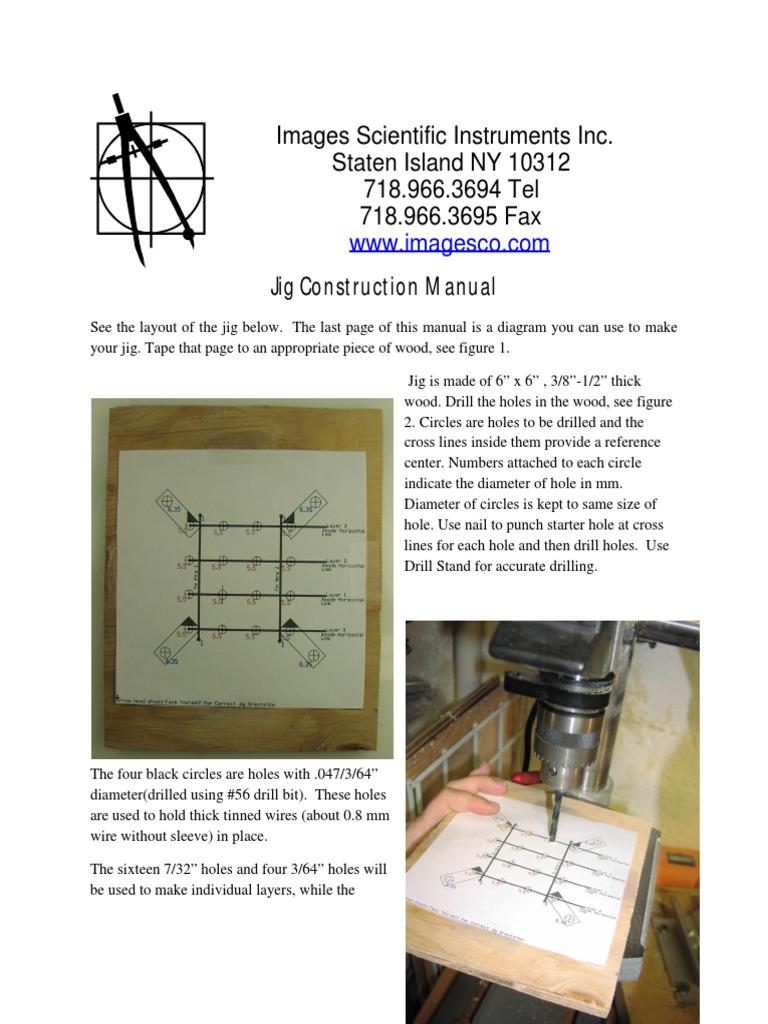 Jigconstructionmanualpdf sheet metal drilling baditri Image collections