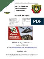 Defensa Nacional -Semana 5-Vi Semestre