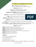Diplomado en Ingeniería Estructural (1)