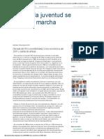 Cuando La Juventud Se Pone en Marcha_ Década Del 90 (Convertibilidad) Crisis Económica Del 2001 y Salida de Ambas.