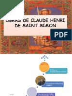 Obras de Claude Henri de Saint Simon Terminada Expo