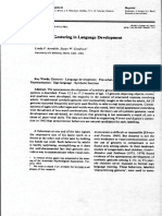 Symbolic Gesturing in Language Development a Case Study [excerpt]