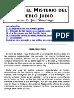 Ester y El Misterio Del Pueblo Judio - Mons Straubinger