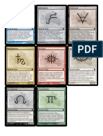 [Spell Cards] Phb (Por Nível)