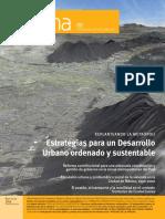 Estrategias Para Un Desarrollo Urbano Ordenado y Sustentable