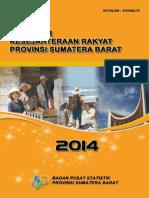 Indikator Kesejahteraan Rakyat Provinsi Sumatera Barat 2013 2014