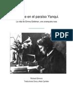 Richard Drinnon, Rebelde en el paraíso Yanqui, La vida de Emma Goldman una anarquista rusa pdf