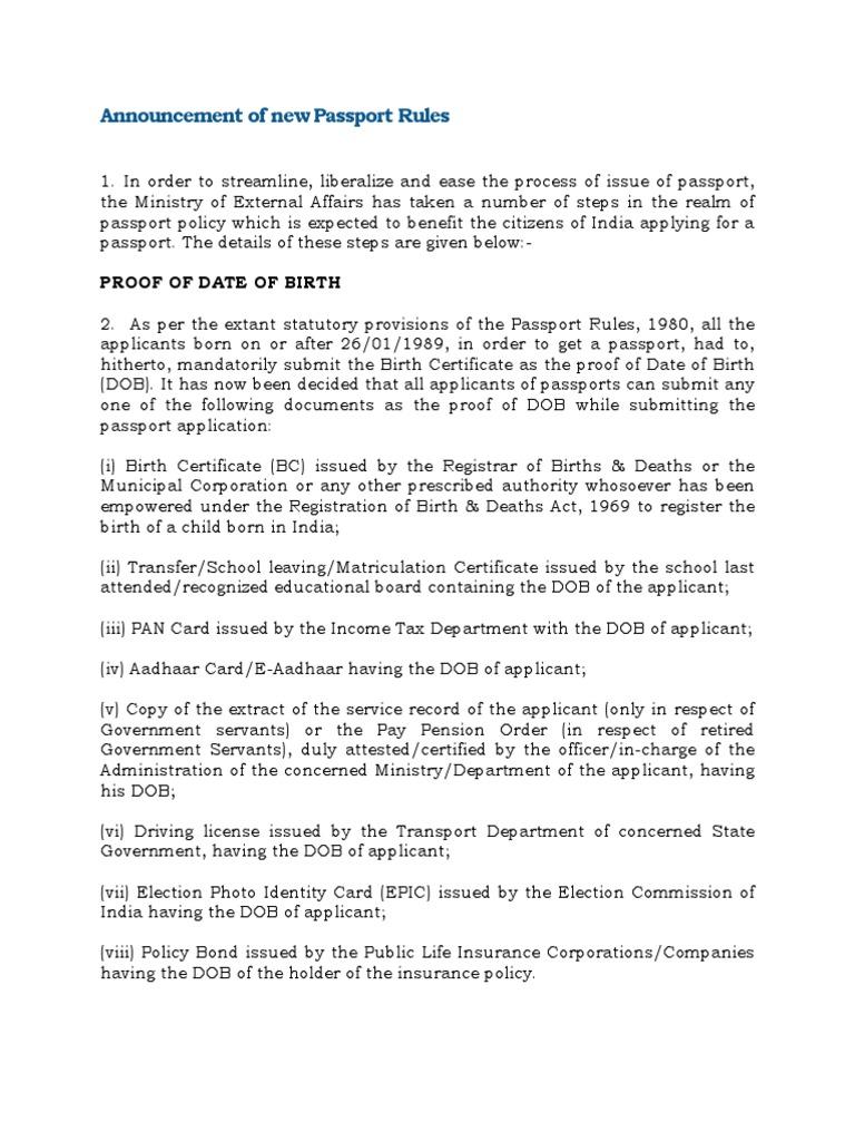 Pressreleasepassportrule birth certificate passport aiddatafo Image collections