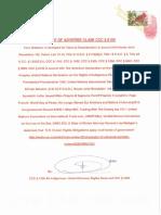 NOTICE OF ADVERSE CLAIM II FTB, CALIFORNIA CCC § 1308 WITHOUT PREJUDICE