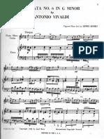 Vivaldi Sonata No.6 in Gminor - Mvt. 1&2 (Piano and Tenor Saxophone)