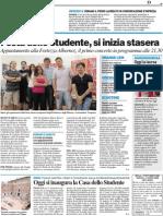 Primo laureato in comunicazione d'impresa / Festa dello studente - Il Resto del Carlino del 24 giugno 2010