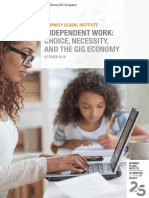 Independent Work Choice Necessity and the Gig Economy Full Report