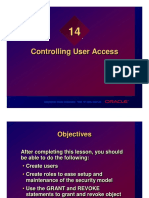 Chapter 14 - Controlling User Access